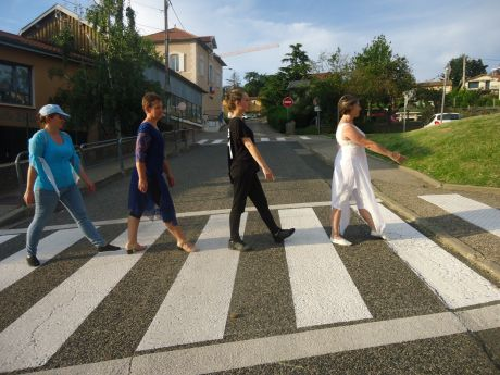 D'Abbey Road 1969 à Vaugneray 2019